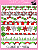 Christmas Borders Clip Art Set 3 - Page Borders and Frames