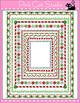 Borders - Christmas Borders Clip Art Set 3 - Personal or C