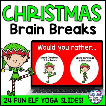 Christmas Brain Breaks {Christmas Would You Rather Questions}