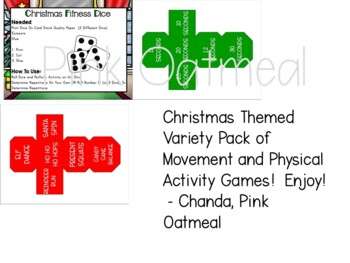 Christmas Brain Breaks, Yoga, and Movement Games