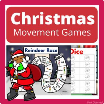 Christmas Brain Breaks, Yoga, and Movement Games