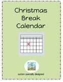Christmas Break Calendar