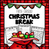 Christmas Break Packet - First Grade
