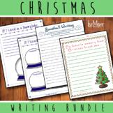 Christmas Break Memory  / Snow Globe / Snowball Writing Bundle