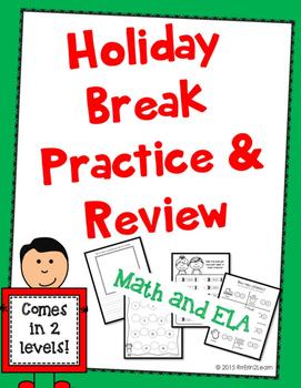 Christmas Break Review Packet