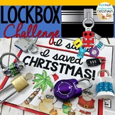 Christmas Lockbox Challenge- Save Christmas! Christmas Activity, Problem Solving