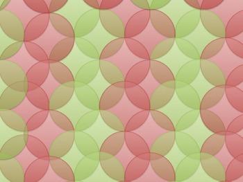 Christmas Bubbles Background