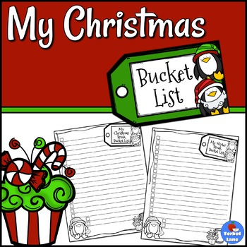 Free Christmas Activities Write a Bucket List