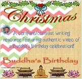 Christmas & Buddha's Birthday compare/contrast writing mini-unit