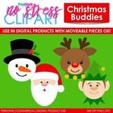 Christmas Buddies Clip Art (Digital Use Ok!)