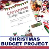 Christmas Activity Budget Project Grades 5 and 6 Mathematics