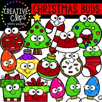 Christmas Buds: Christmas Clipart {Creative Clips Clipart}