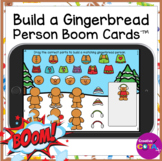 Christmas Build a Gingerbread Person Boom Cards