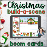 Christmas Build a Scene  |   Boom Cards™