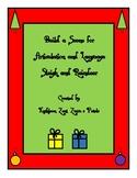 Christmas Build a Scene: Sleigh and Reindeer