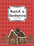 Christmas Build a Sentence Activity
