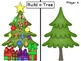 Christmas Build a Tree Fun Math Station / Gameboard and Cards