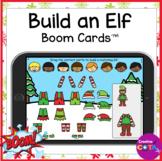 Christmas Build an Elf Visual Perception Boom Cards for Oc
