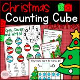 Christmas Building Cubes Math Activities for Kindergarten