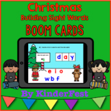 Christmas Building Sight Words - Boom Cards