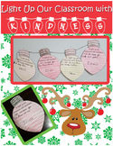 Christmas Bulb Writing- Showing Kindness
