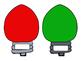 Christmas Bulletin Board. Christmas Light bulbs. May Our Days Be Merry & Bright