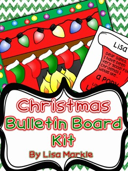 Christmas Bulletin Board Kit