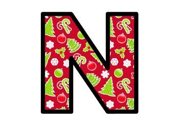 Christmas, Bulletin Board Letters, Classroom Decor, Christmas Alphabet Letters