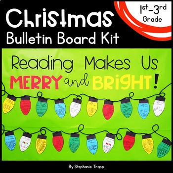 Christmas Bulletin Board for First, Second and Third Grade