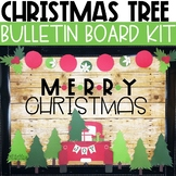 Christmas Bulletin Board or Door Kit - Little Red Truck Theme