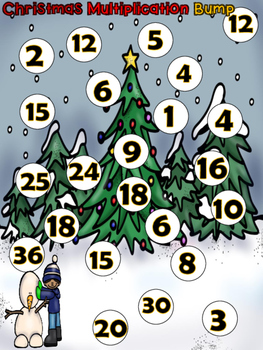 Christmas Bump {{ 2 dice multiplication}}
