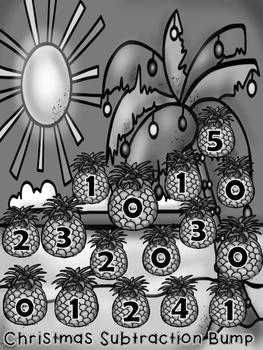 Christmas Bump {{ 2 dice subtraction}}