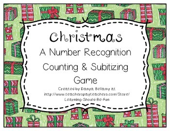 Christmas Bump: A Counting, Subitizing, and Number Recogni