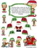Christmas Bump Game Addition, Subtraction, and Mutilpicati
