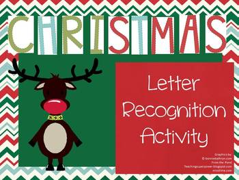 Christmas Bundle 1 (Letter Recognition, Eddie the Elf, Christmas Writing)