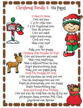 Christmas Bundle 2 - 124 pages