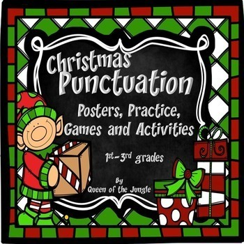 Christmas Activities: Literacy and Math Bundle
