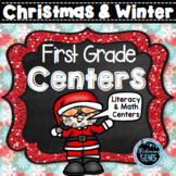 Christmas Centers for First Grade | Winter Centers | December Centers