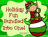Christmas Bundle -  3rd, 4th, 5th - Language Arts and Math Activities