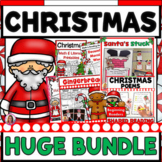 Christmas Bundle! HUGE set of 8 Christmas Products (Math, Literacy, Craft)