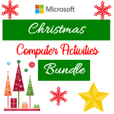 Christmas Computer Activities - Microsoft Word, Excel, PowerPoint Bundle