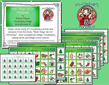 Christmas Bundle - BOARDMAKER Bingo Games