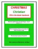 "Christmas Bundle - Including ""The Birth of Jesus Christ"" B"