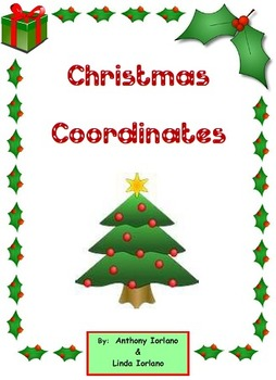 Christmas Bundle, Coordinate Drawing, Coordinate Graphing,