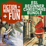 Christmas Bundle - ESL Beginner: Little Match Girl + Nonfi