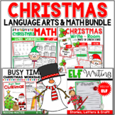 Christmas Bundle - Math, Language and Reading