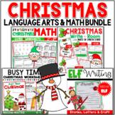 Christmas Bundle - Math, Language and Reading