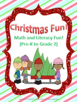 Christmas Bundle Math and Literacy Fun