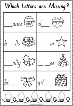 Christmas Bundle QLD Beginners Font: English and Math Worksheets, Posters