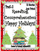 Christmas Bundle!   Reading Comprehension Passages and Questions!  K - 1
